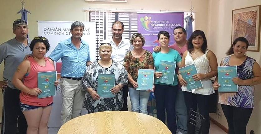 Créditos Rucalhué: seis vecinos beneficiados