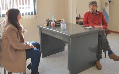 Nos visitó la diputada provincial Agustina García