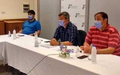 """Participó Luis Bertero: presentaron """"Menos de 1000 + Deportes"""" a los intendentes"""